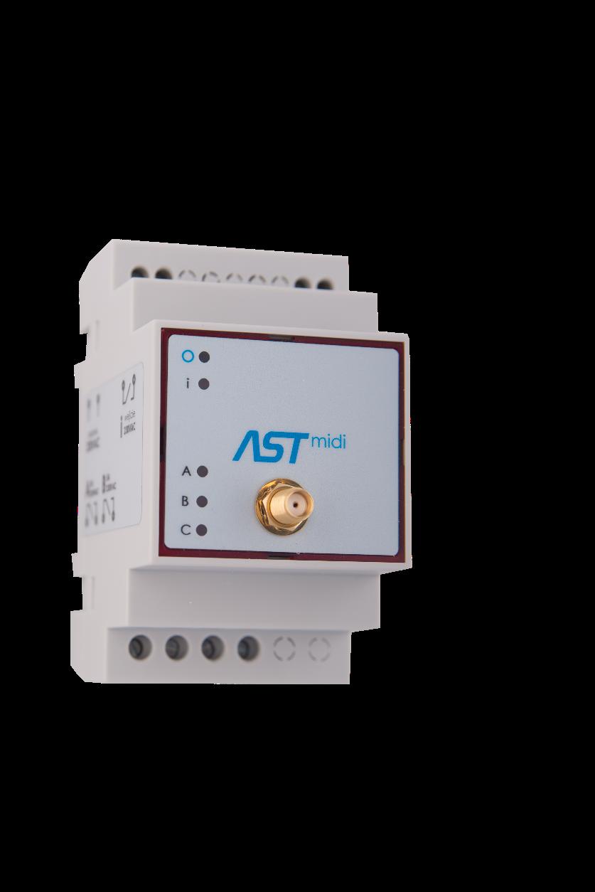 sterowniki do oświetlenie ulicznego ASTmidi i ASTmidi GPS